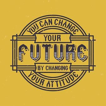 Motivationsplakat. inspirierendes zitatdesign.