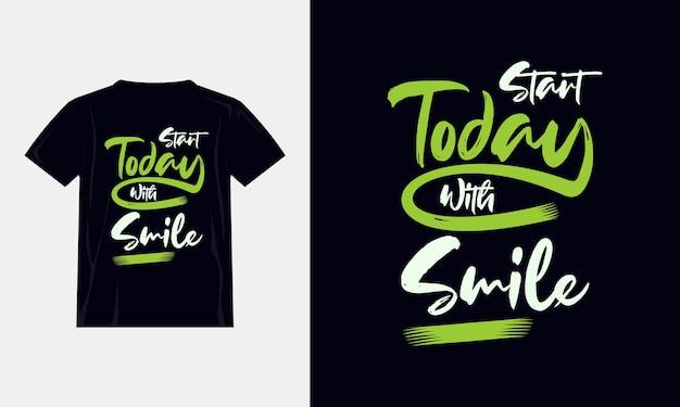 Motivierende zitate t-shirt design