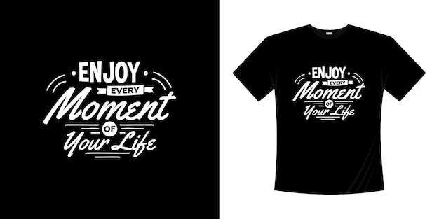 Motivierendes schriftzug-typografie-t-shirt-design. schriftzug handgeschriebenen stil.