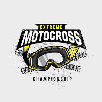Motocross-brille