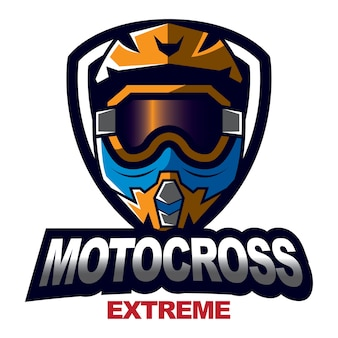 Motocross-design-emblem