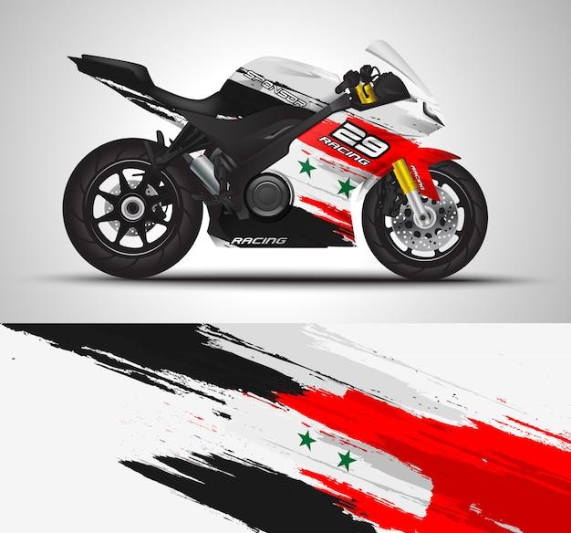 Motorrad-aufkleber und vinyl-aufkleber