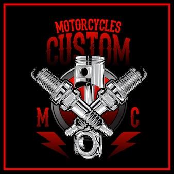 Motorrad-custom-logo