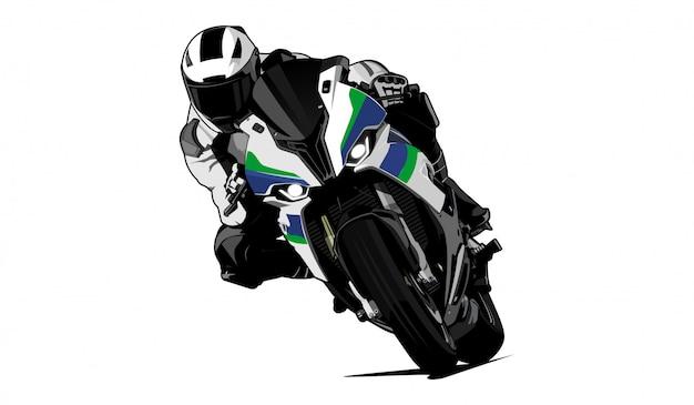 Motorrad illustration