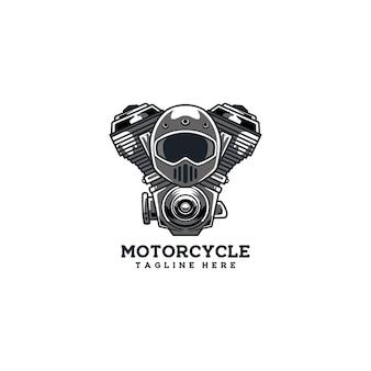 Motorradclub emblem motorradfahrer
