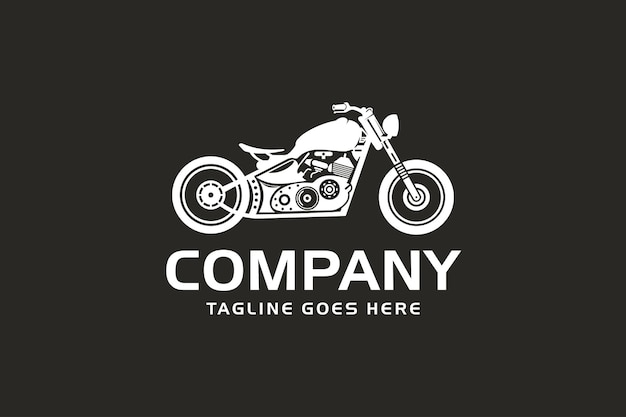Motorradlogo, retro-motorrad