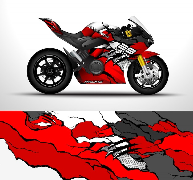 Motorradverpackungsdesign