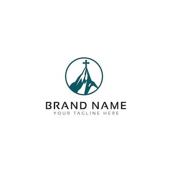 Mount kirche logo vorlage
