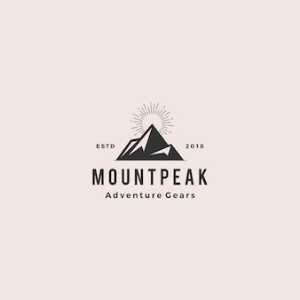 Mount peak berg logo