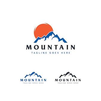 Mountain logo vorlage
