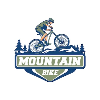 Mountainbike-vektor