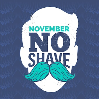 Movember hintergrund