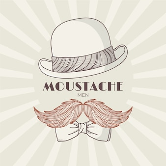 Movember im vintage-stil