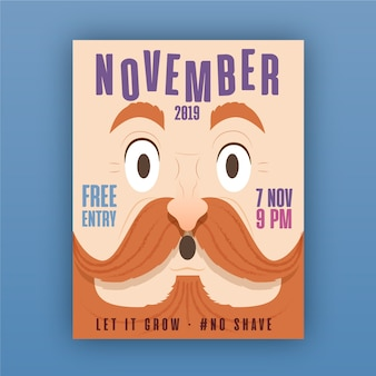Movember-plakat