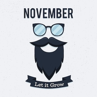 Movember prostatakrebs-bewusstseinsmonat