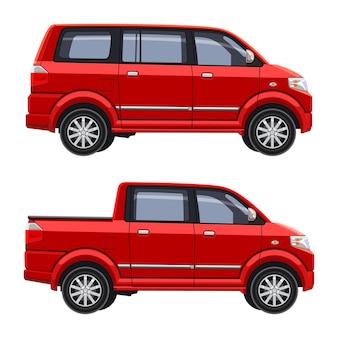 Mpv auto so modifiziert doppelkabine pickup