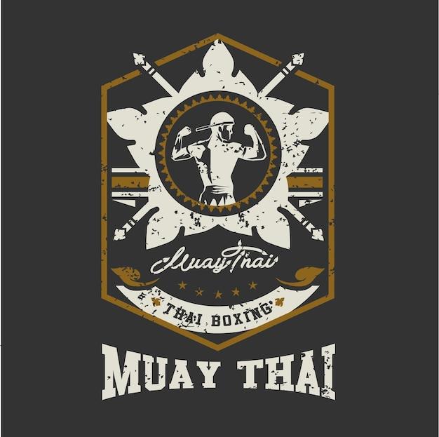 Mua thai hintergrund