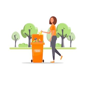 Müllsortierung