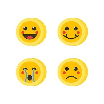 Münze emoticons