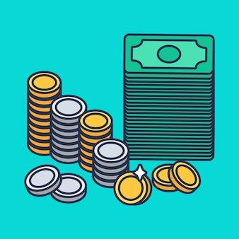 Münzen und geld