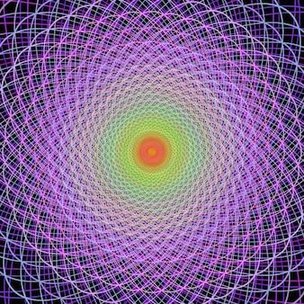 Multicolor fraktalen hintergrund