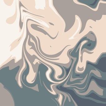Multicolors marmor abstrakte und flüssige welle in nahtlosem muster