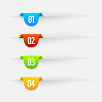 Multifunktionsleiste farbe banner.