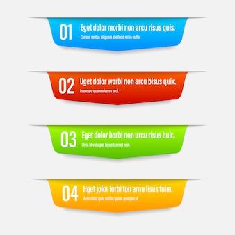 Multifunktionsleiste farbe banner