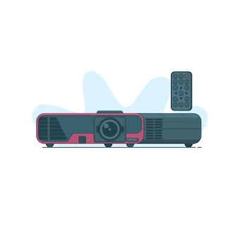Multimedia-projektor-vektor-symbol