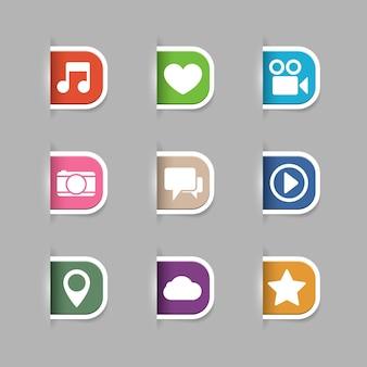 Multimedia tabs sammlung