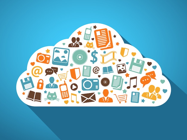 Multimedia- und mobile-apps in der cloud