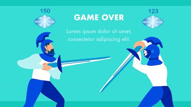 Multiplayer-videospielvorlage