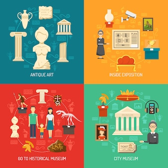 Museum 2x2 design concept