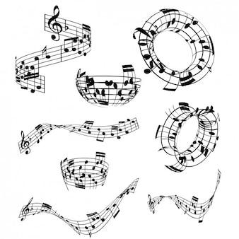 Musical notes-sammlung