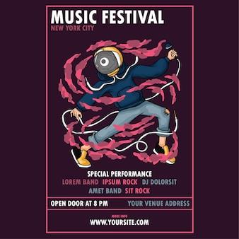 Musik-event-poster-design
