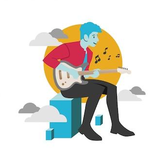 Musik flacht design