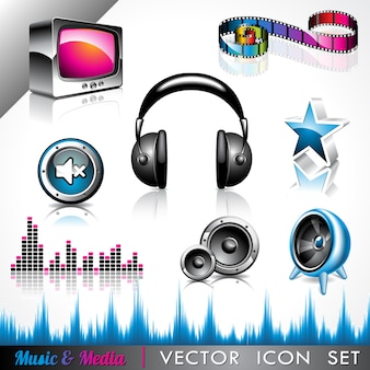 Musik-ikonen-sammlung