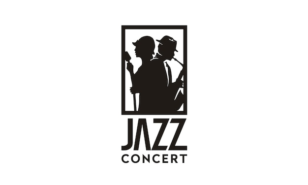 Musik jazz logo design inspiration