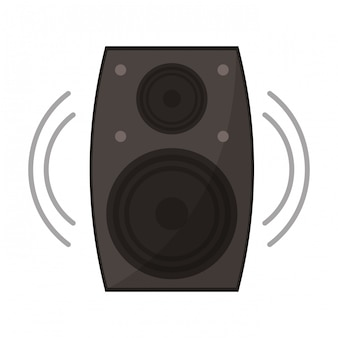 Musik lautsprechersymbol