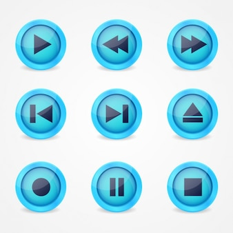 Musik-player-icons