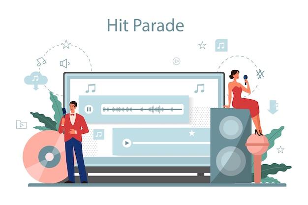 Musik-streaming-service und plattform