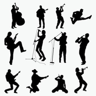 Musikalische silhouetten