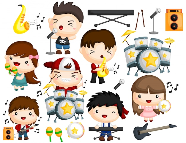 Musikband-image-set