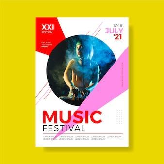 Musikereignisplakat