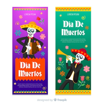 Musikerskelette für dia de muertos event