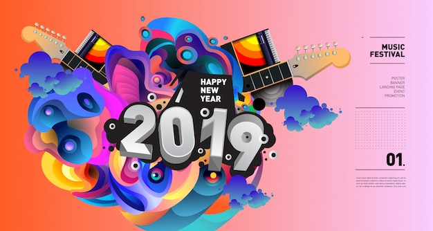Musikfestival-illustration 2019