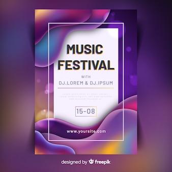 Musikfestival-poster