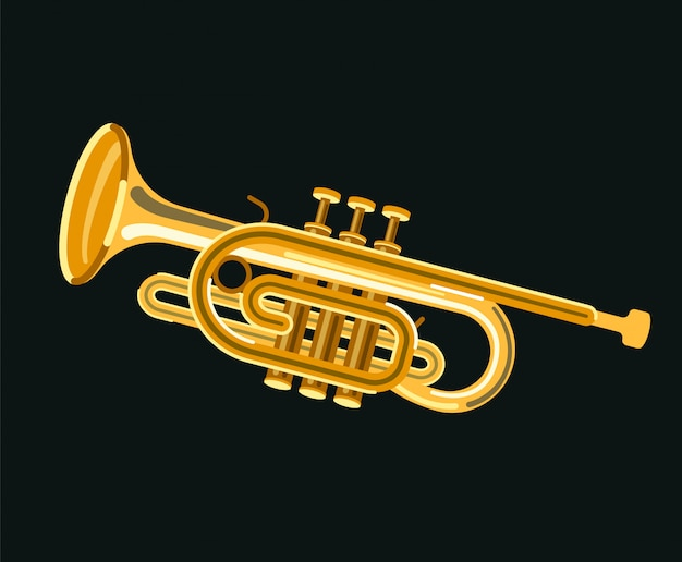 Musikinstrument kornett