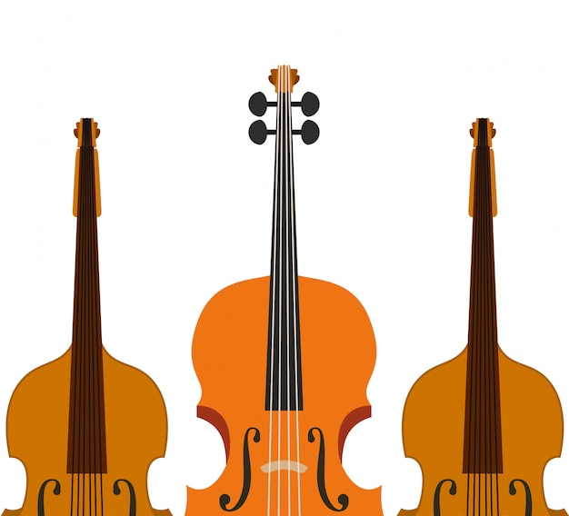 Musikinstrument violine-symbol