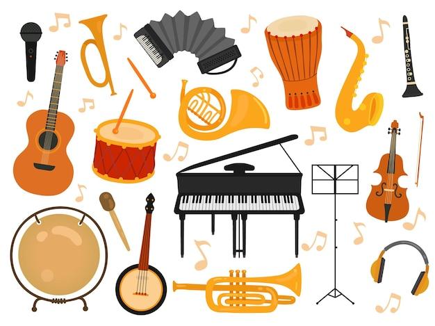 Musikinstrumente eingestellt